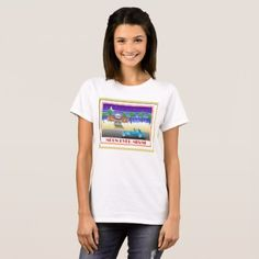 Moon Over Miami T-Shirt - vintage gifts retro ideas cyo