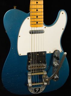 Telecaster, Lake Placid blue with Bigsby tremolo