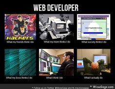 Web Developer - Expectation vs Reality