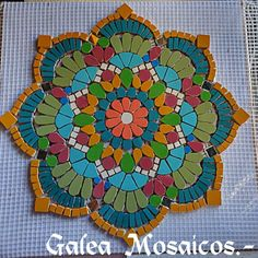 Mosaic Tile Designs, Mosaic Patterns, Mosaic Tiles, Mosaic Crafts, Mosaic Projects, Mosaic Glass, Glass Art, Home Crafts, Arts And Crafts