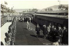 Prime Minister Adli Pasha Yakan Attends The Inauguration of Aswan - Luxor Rail Line in 1926 | Flickr - Photo Sharing!