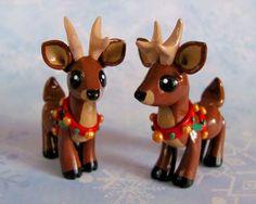 Christmas Reindeer by DragonsAndBeasties.deviantart.com on @deviantART