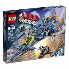 Lego Movie 70816 Benny's Spaceship Robot Emmet Minifigure 2014 for sale online Lego Film, Lego Movie Sets, Lego Sets, Party Bus, Legos, La Grande Aventure Lego, Lego Spaceship, Satellite Dish, Classic Toys