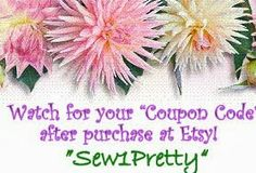 SWEET SEWING PATTERNS: Always receive this coupon on checkout from Etsy. Stunning Ralph Lauren custom made pillow shams.