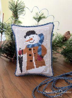 Stitching Dreams: Winston the Snowman