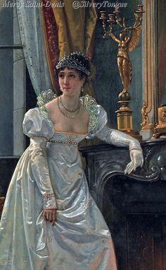 Hector Viger, dipinto