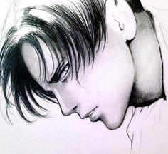 Levi sketch #scketch #pencildrawing