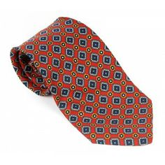 Yves Saint Laurent - red silk tie