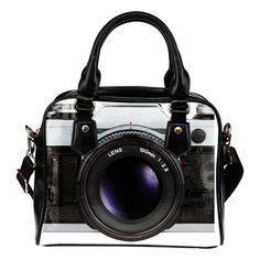 Vintage Camera Shoulder Handbags