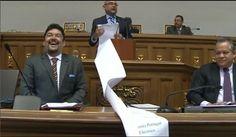 Julio Montoya y la super lista de Corrupción Chavista. SesiónAN (Discurs...