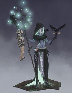 Rhohona- Warlock Drow