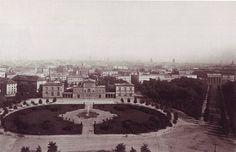 Berlin, Königsplatz um 1880.