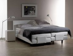 Boxspring Norma Timeless electrisch verstelbaar http://www.theobot.nl/collectie/9-boxsprings/33-norma.html