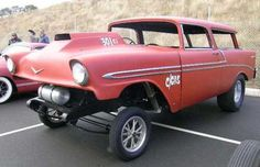 Okay, not really a rat rod... nice 60s Gasser vibe, though.