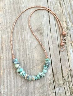 Turquoise necklace turquoise jewelry natural turquoise southwestern jewelry
