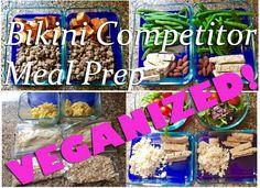 Muscle & Fitness HERS Bikini Competitor Meal Plan VEGANIZED!