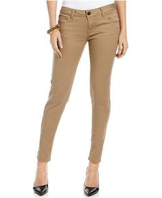 Khaki Skinny Jeans | FOREVER21 - 2000074250 | Things I Have In My ...