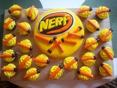 nerf gun cake @Cassandra Guild Bair-Alexander - for the next dev mtg?