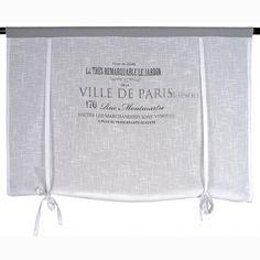 Roleta Ville De Paris Grey - BelleMaison.pl #francuskierolety