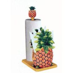 Pineapple Kitchen Decor Pineapple Paper Towel Holder W Napkin Holder