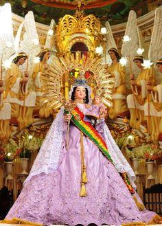 Se Apareció a una Niña: Virgen de Urkupiña, Bolivia  15 de Agosto http://forosdelavirgen.org/213/virgen-de-urkupina-bolivia-15-de-agosto/