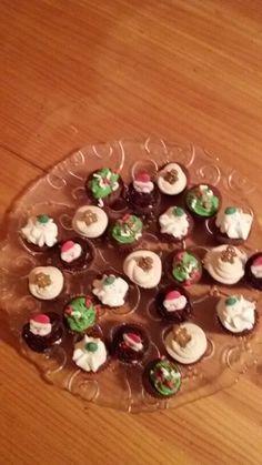 Mini cupcakes de navidad