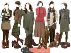 How about a soft Autumn - how to do tights & shoes in winter without wearing black?