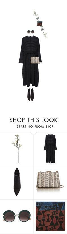 """""""Untitled #1650"""" by maja-z-94 ❤ liked on Polyvore featuring Carven, Acne Studios, Lanvin, Jimmy Choo and NOVICA"""