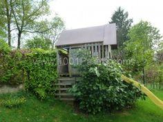 Une cabane dans le jardin pour les enfants / Kids hut in the garden !