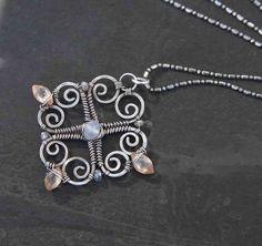 Sterling Silver Pendant Necklace by AlaskaFirefly