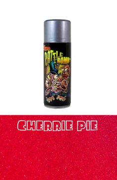 Lil Daddy Roth metal Flake Rattle Bomb Cherrie Pie red glitter hot rod kustom #lildaddyroth