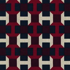 Hermès, PAVAGE IMPRIME' Taken from a tie design by Philippe Bouquet.