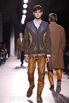 Dries Van Noten Menswear Fall Winter 2013 Paris