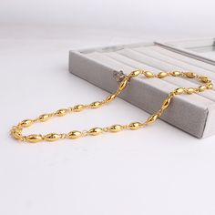 Find More Chain Necklaces Information about 6 mm heavy gold color beads chain necklace Alloy Never fade necklaces jewelry wholesale,High Quality necklace computer,China jewelry furniture Suppliers, Cheap necklace jewelry tree from Chinese Jewelry Factory,Wholesale From Yiwu China on Aliexpress.com