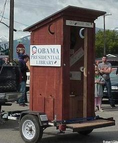 OBAMA'S LIBRARY..LOL