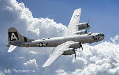 Boeing B-29 Superfortress heavy bomber WWll Pacific American Air Force