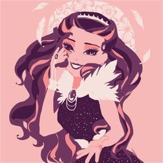 Monster Prom, Monster High, Raven Fanart, Raven Queen, Queen Art, Nostalgia, Ever After High, Bendy And The Ink Machine, High Art