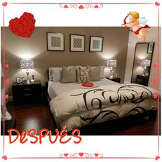 Valentine's Day room makeover featured on the morning show.