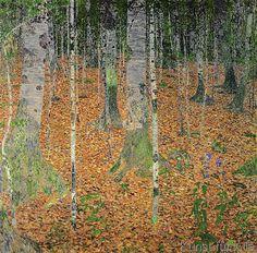 Gustav Klimt - The Birch Wood, 1903