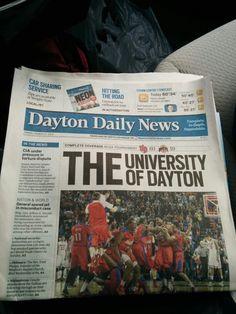 THE University of Dayton Dayton Flyers, Dayton Ohio, Cincinnati Reds, University Of Dayton, Alma Mater, College Fun, Sports Teams, Random Things