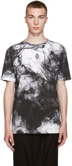 Marcelo Burlon County of Milan - White & Black Champaqi T-Shirt