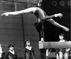 Natalia Shaposhnikova - I think I would really enjoy it if all the awesome hand balancing that used to be a huge part of gymnastics was still around today.