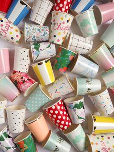 Papier Paille X 25 Rayé Polka Dot potable Wedding Birthday Party Supplies