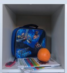 Have a cubby this year? Fly back to school with the perfect fit, Dragons lunchkit!
