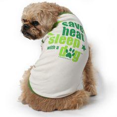ahahaha... save heat, sleep with a dog. <3