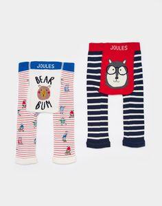 c1355ab55fbfb0 Lively Bear Leggings Two Pack , Size 1yr-2yr | Joules US Toddler Leggings,