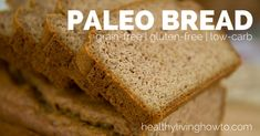 Paleo Bread | looks super easy every paleo eater would have this stuff at home!