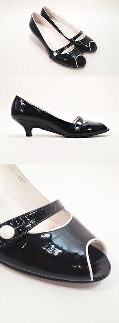 199448d076f Zapato tacón bajo charol SALORD JOVER Color negro - T.40 Colección  Reestreno www.zsazsazsu.es