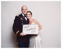 wedding board for photo booth