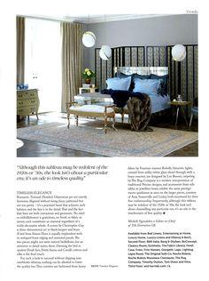 Simon Horn's Valentino bed, as seen in Harrods' new bed department simonhorn.com Harrods Magazine Winter 2015
